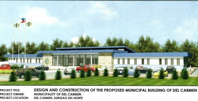Proposed Municipal Building of Del Carmen