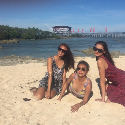 Sam Pinto at Siargao