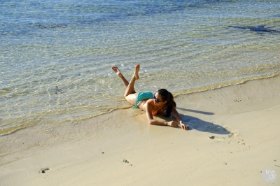 Kryz Uy in Siargao Islands