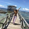 Ellen Adarna in Siargao Islands Vacation
